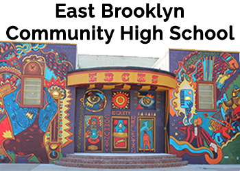 East Brooklyn Community High School is one of our school partners