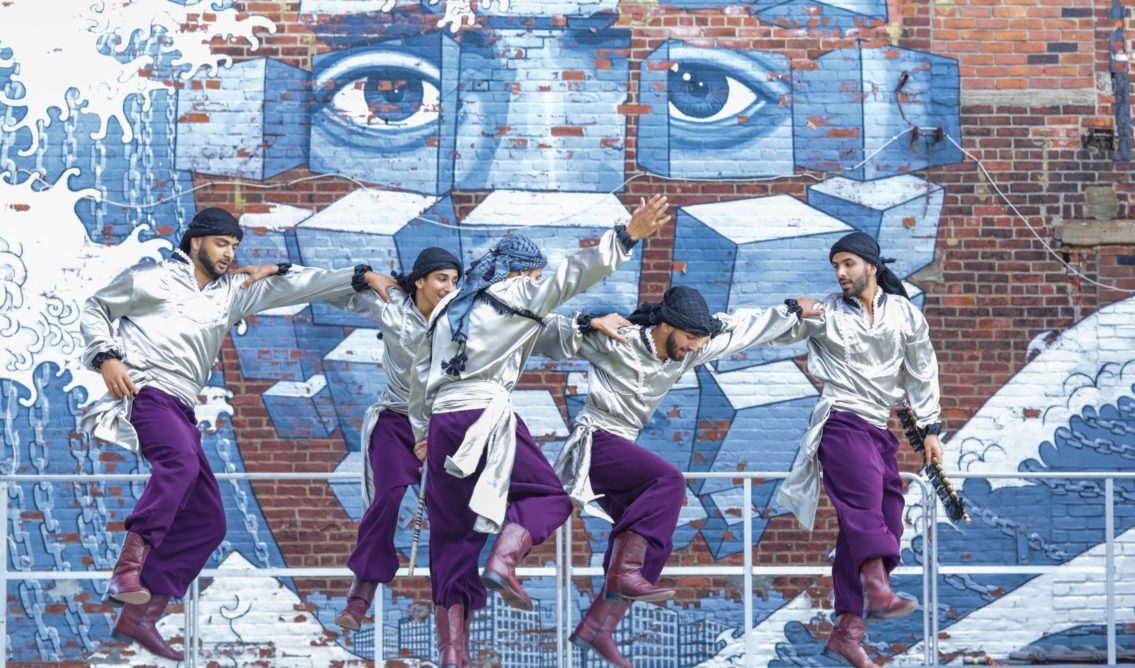 Hook Arts Media presents Red Hook Fest 2017 Freedom Dabka Group performing