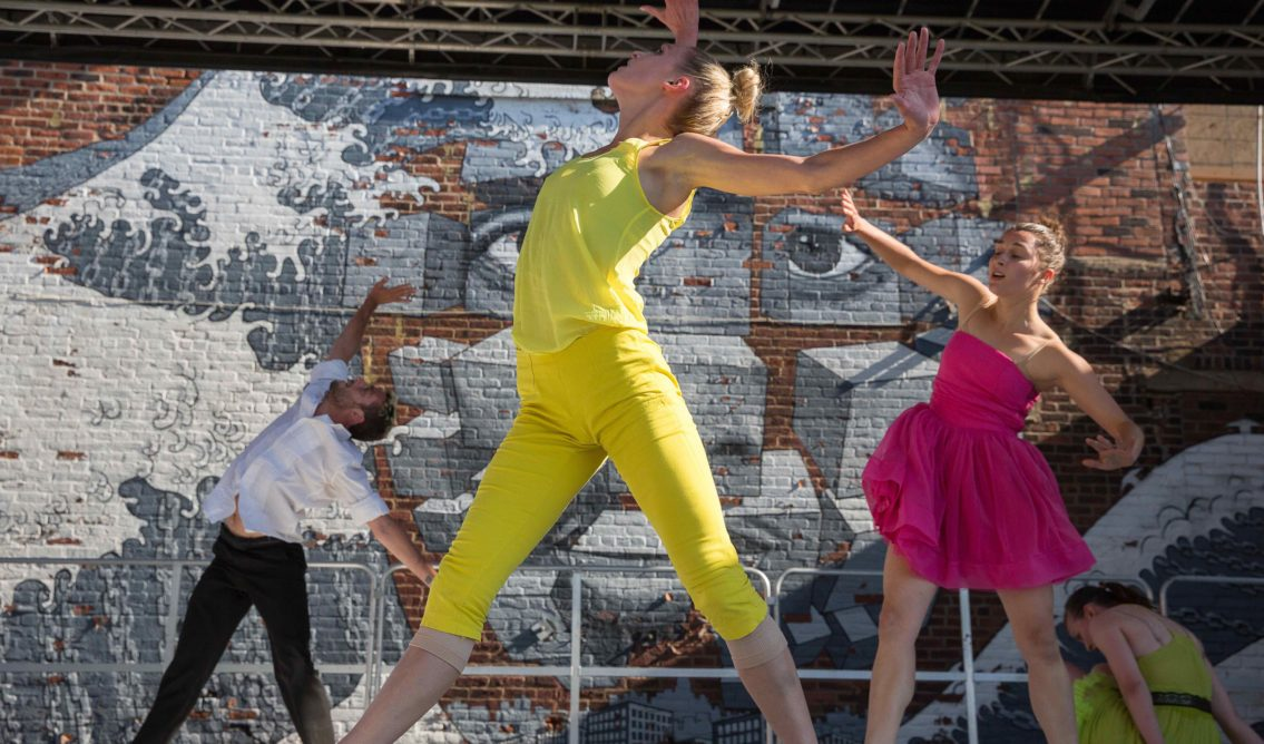 Hook Arts Media presents Red Hook Fest 2014 Gallim Dance performing