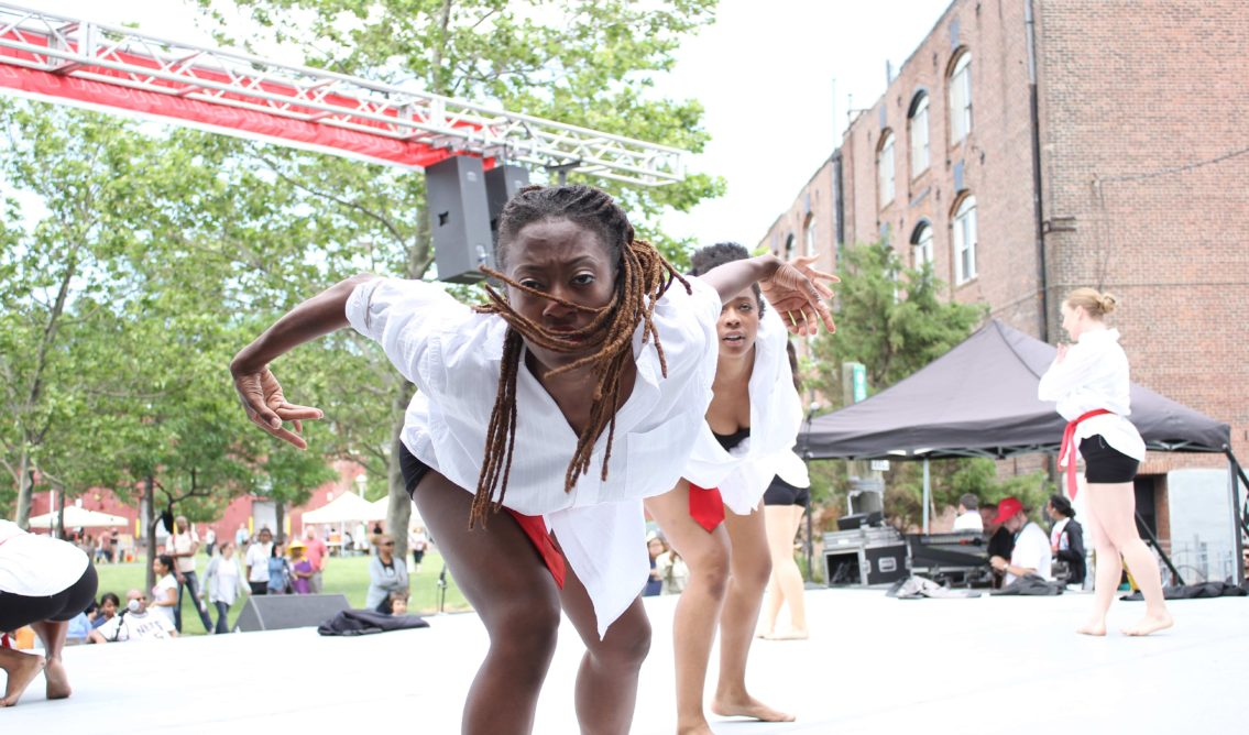 Dancers at 2012 Red Hook Fest