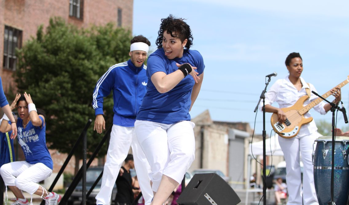 Breakdancers at 2011 Red Hook Fest