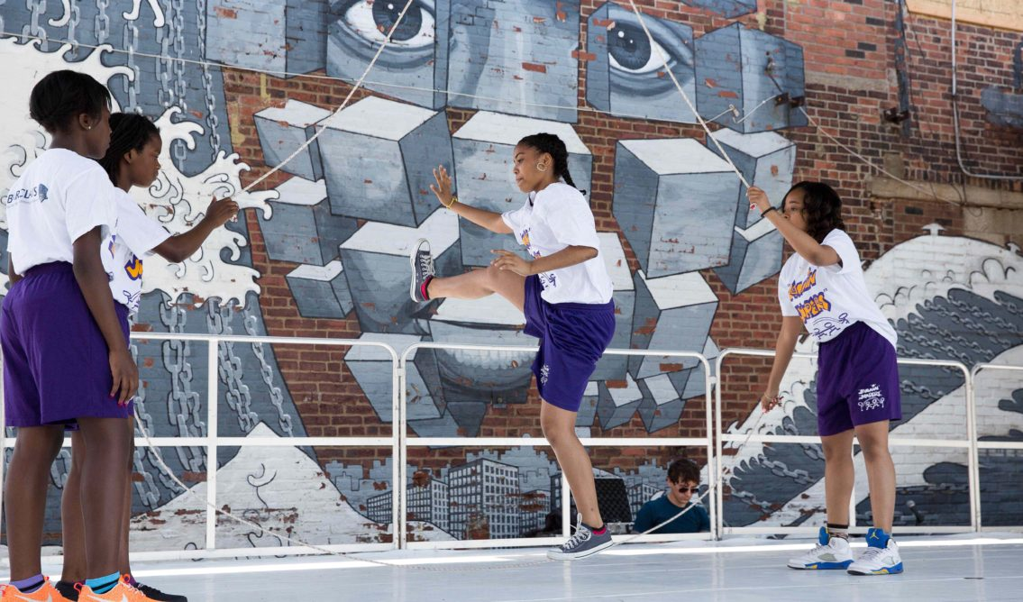 Hook Arts Media presents Red hook Fest 2014 Jammin Jumpers youth group performing