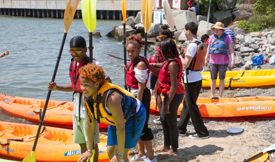 Kayaking Activity at the 2013 Red Hook Fest