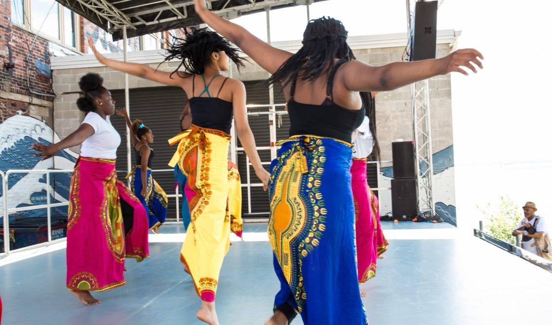 Hook Arts Media presents Red Hook Fest 2017 Shola Bare Dance Experience Performing