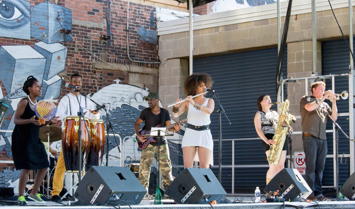 Hook Arts Media presents Red Hook Fest 2014 Underground System performing