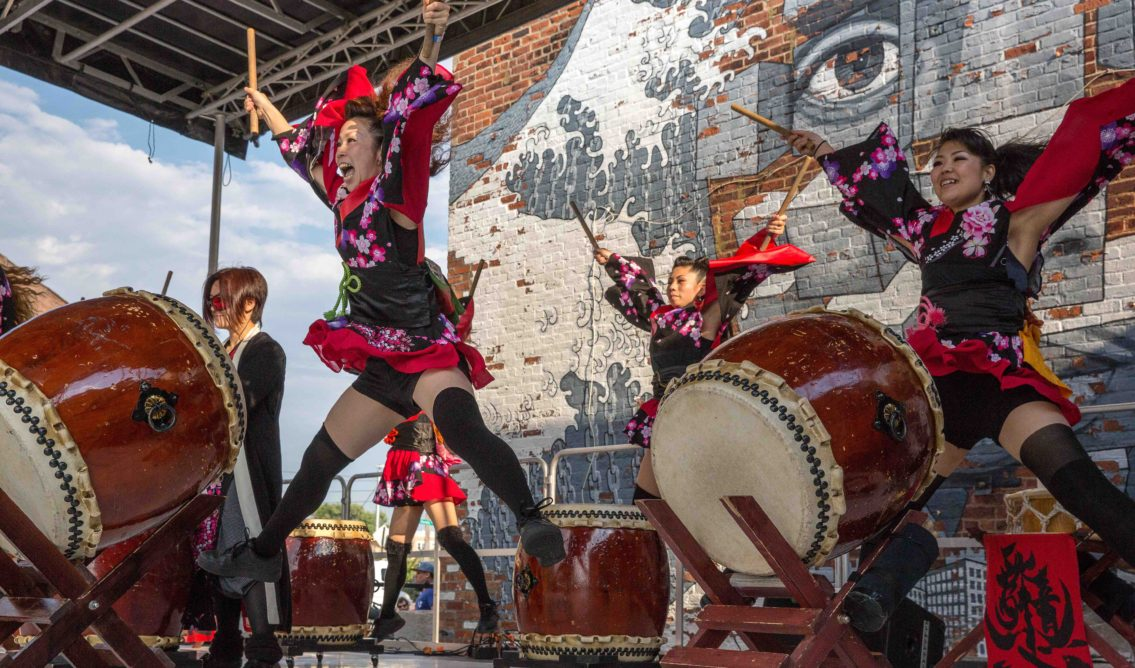 Hook Arts Media presents Red Hook Fest 2016 Cobu performing