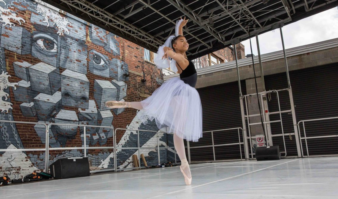 Hook Arts Media presents Red Hook Fest 2016 youth ballet group performing