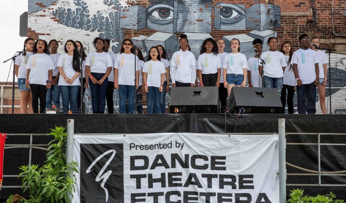 Hook Arts Media presents RED hook fest 2015 youth choir performing