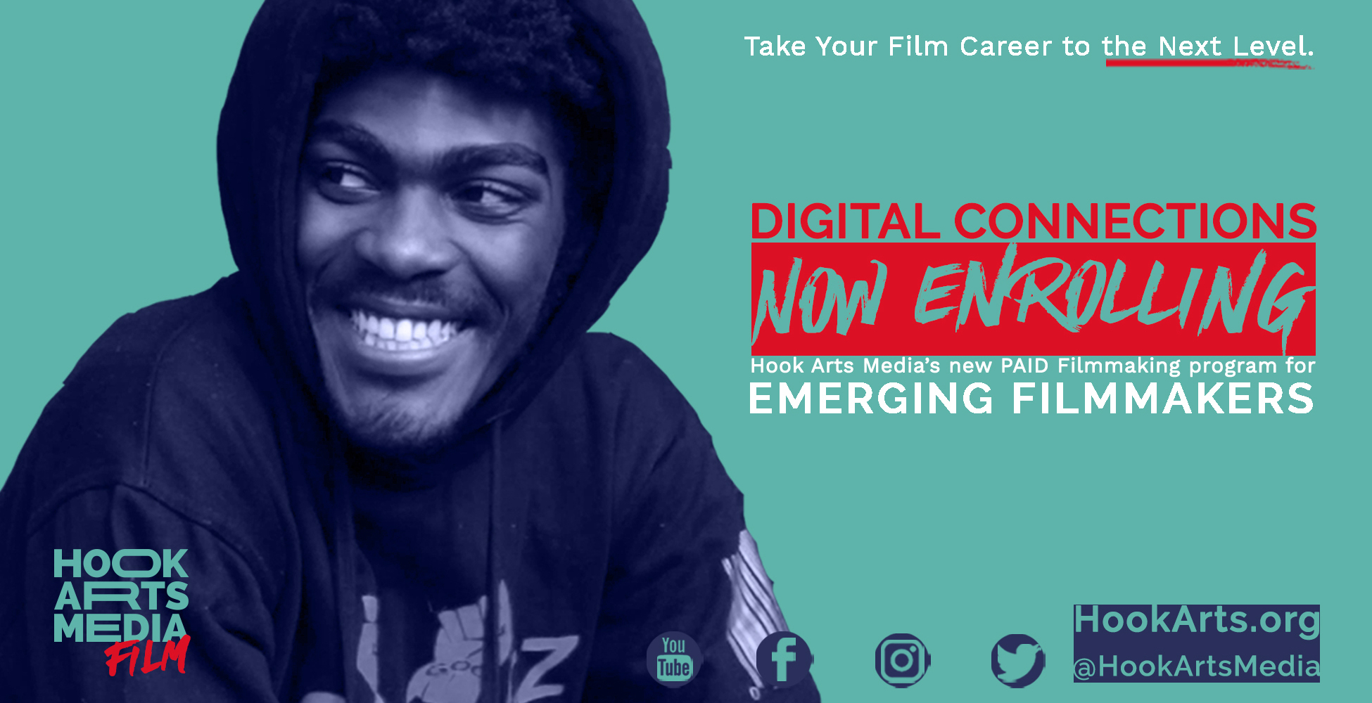 Digital Connections currently accepting applications for the 2021-22 film fellows
